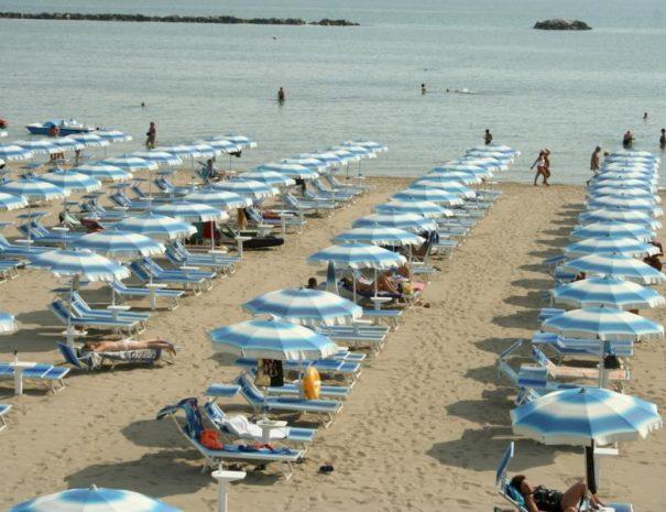 Hotel Welt Gatteo Mare - Spiaggia convenzionata